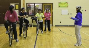 Bike School Teachers in Training Hudston TMA