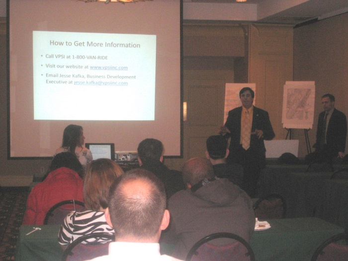 lunch and learn transportation seminar in Hudson County