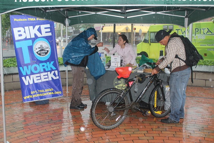 Bike to Work Week Grove Street