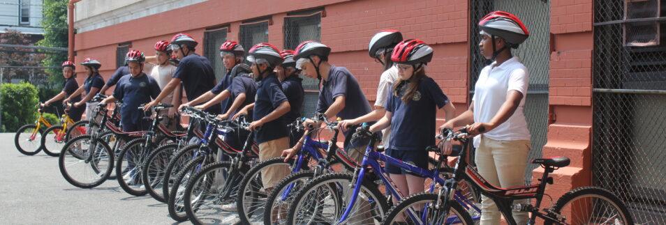 Hudson County Bike School Program