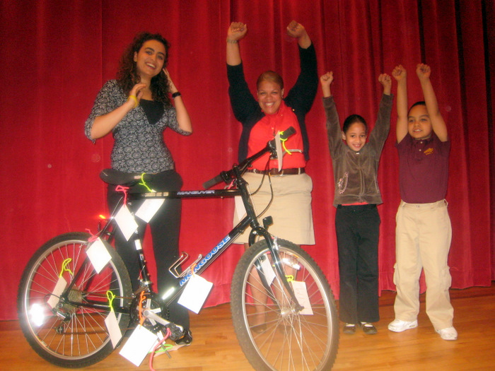 Hudson TMA Bike Safety program