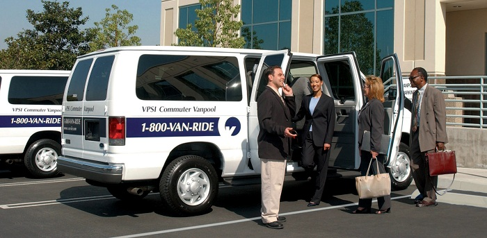 VPSI commuter vanpool people | HTMA