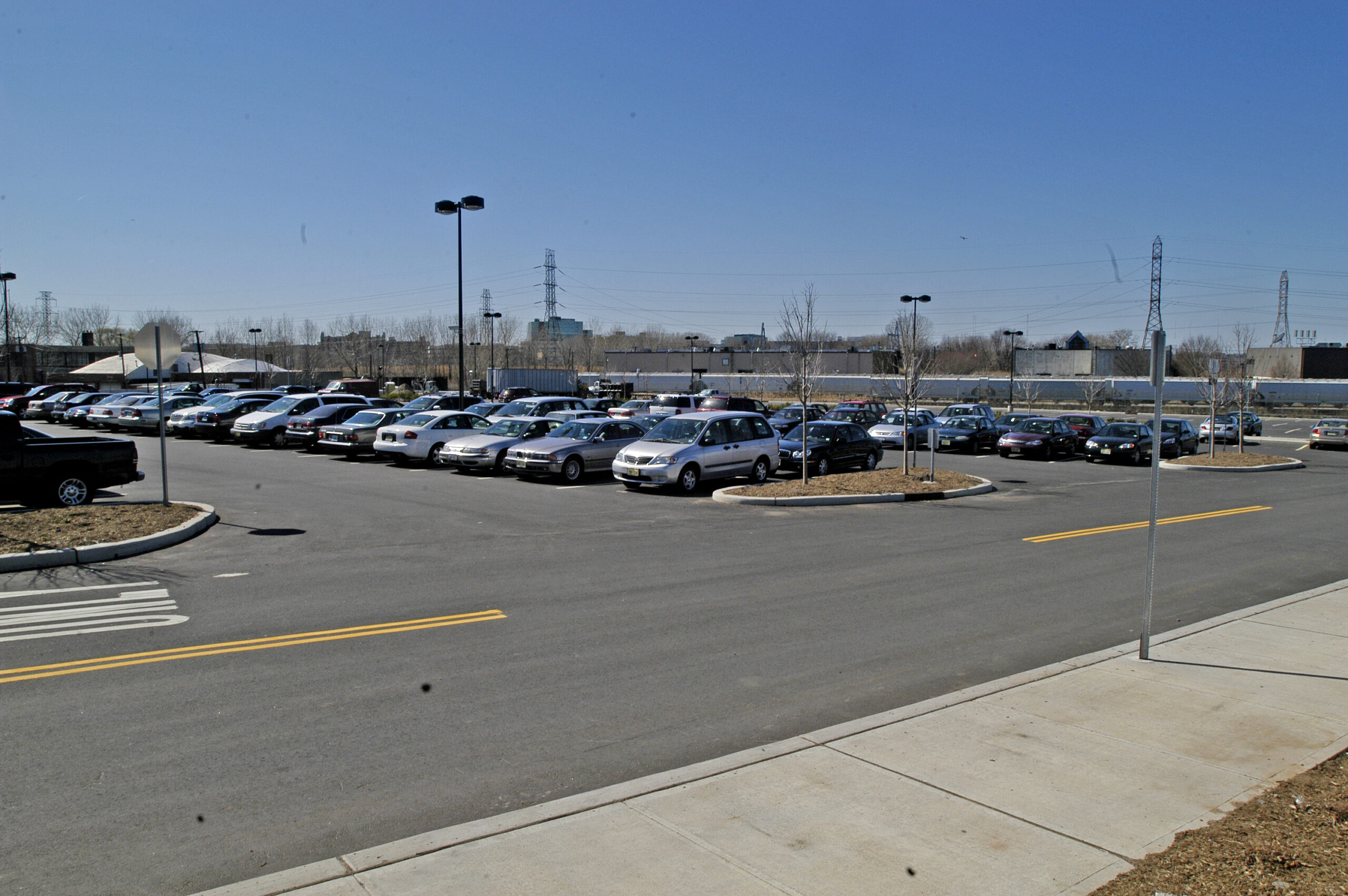 park and ride lot locations Hudson County, NJ