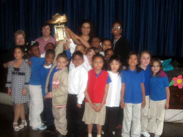 Golden Sneaker Winners, Hudson County, NJ