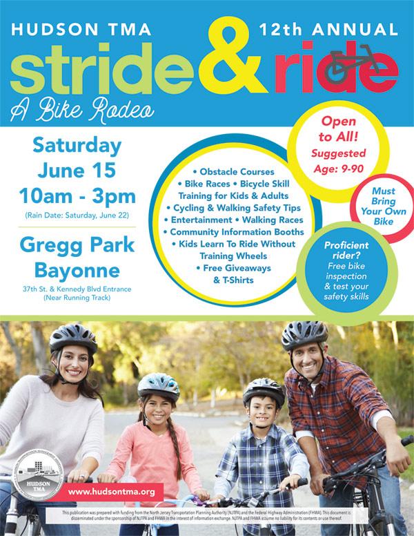 stride and ride 2019 | Hudson Transportation Management Association