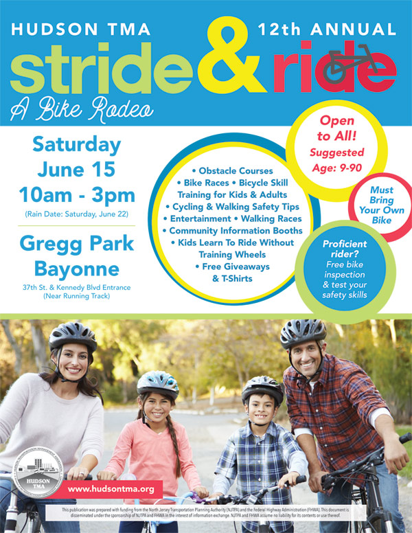 stride and ride 2019 | Hudson Transportation Management Association