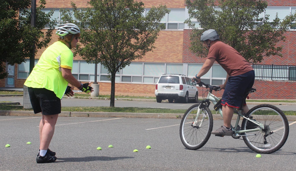 Learn to Ride a Bike in Hudson County